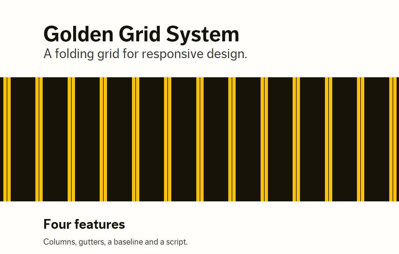 Home Golden Grid System